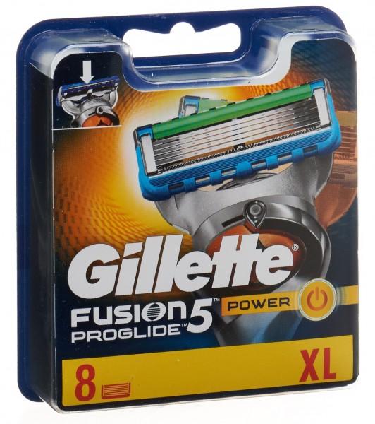 GILLETTE Fusion5 ProGlide Klingen Power 8 Stk
