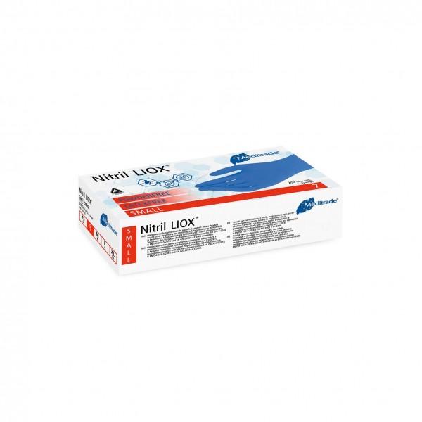 Nitril LIOX Handschuhe S Meditrade puderfrei blau à 200 Stk.