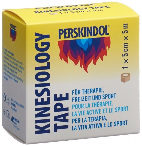 PERSKINDOL Kinesiology Tape 5cmx5m hautfarbig