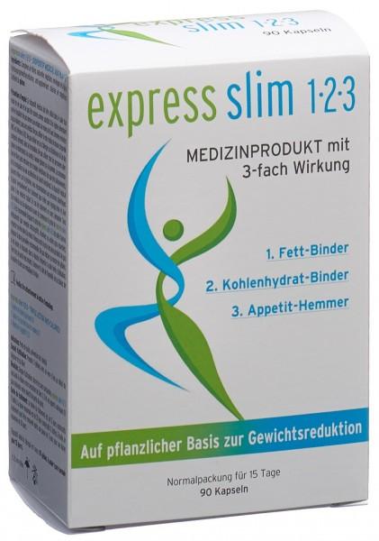 EXPRESS SLIM 1-2-3 Kaps mit 3-fach Wirkung 90 Stk