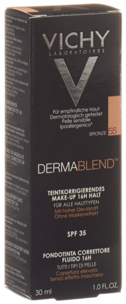 VICHY Dermablend Korrektur Make Up 55 bronze 30 ml