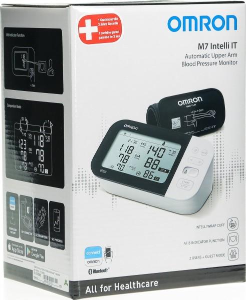 OMRON Blutdruckmessgerät Oberarm M7 Intelli IT