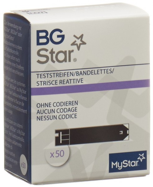 BGSTAR/IBGSTAR MYSTAR Extra Teststreifen 50 Stk