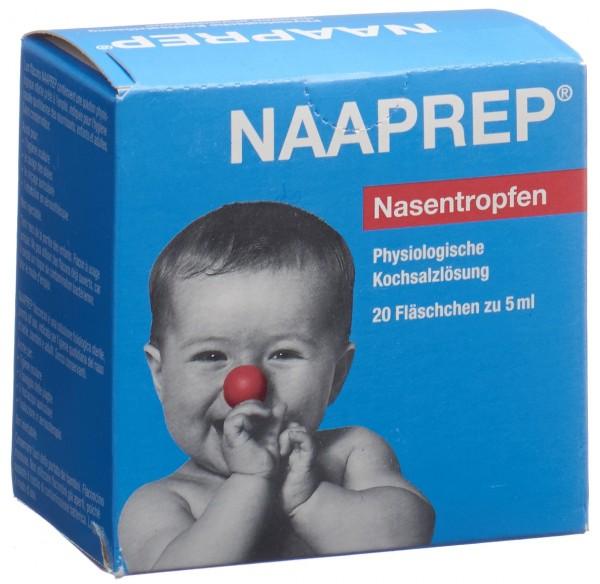 NAAPREP Nasentropfen 20 x 5 ml