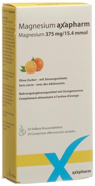 MAGNESIUM AXAPHARM Brausetabl 375 mg 24 Stk