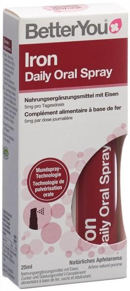 BETTERYOU Iron Daily Oral Spray 25 ml