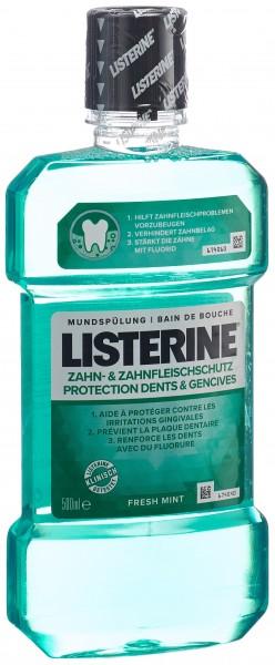 LISTERINE Mundspül Zahn u Zahnfleischschutz 500 ml