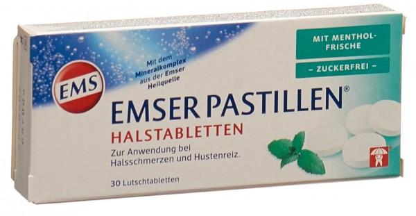 EMSER Pastillen zuckerfrei Mentholfrische 30 Stk