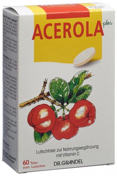 DR GRANDEL Acerola Plus Lutschtaler Vit C 60 Stk