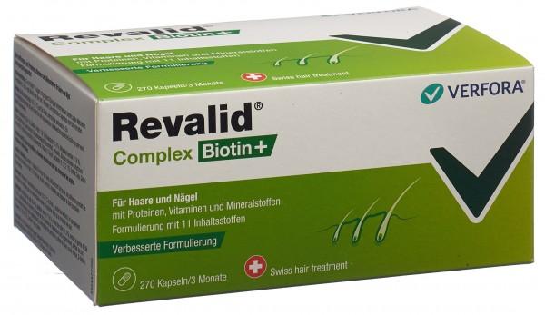 REVALID Complex Biotin+ Kaps 270 Stk
