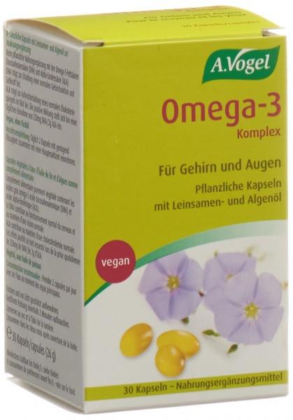 VOGEL Omega-3 Komplex Kaps 30 Stk