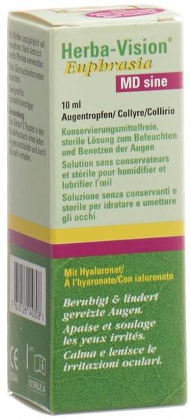 HERBA VISION Euphrasia MD sine Augentropfen 10 ml