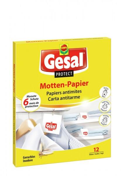 GESAL PROTECT Motten-Papier 12 Stk