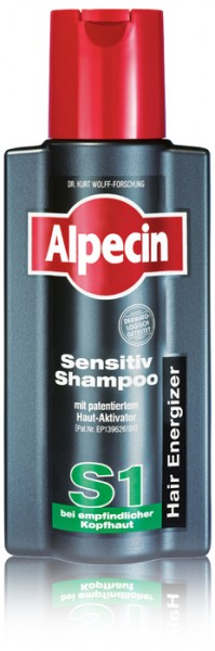 ALPECIN Hair Energizer Sensitiv Shampoo S1 250 ml
