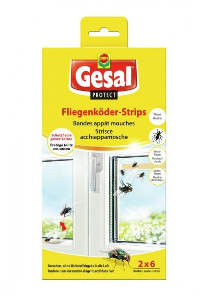 GESAL PROTECT Fliegenköder-Strips 2 x 6 Stk