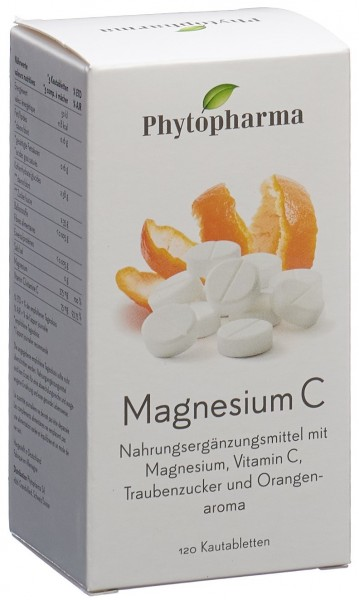 PHYTOPHARMA Magnesium C Kautabl 120 Stk