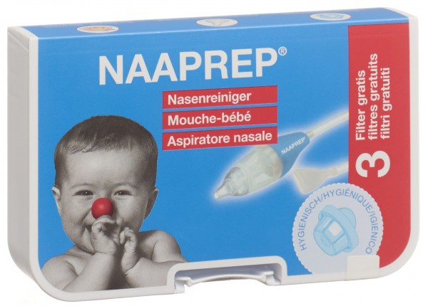 NAAPREP Nasenreiniger inkl 3 Filter