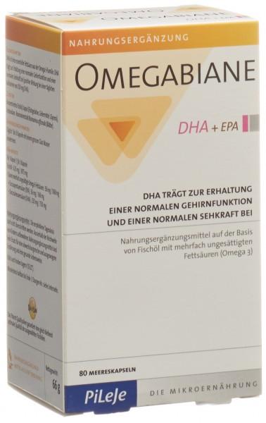 OMEGABIANE DHA + EPA Kaps Blist 80 Stk