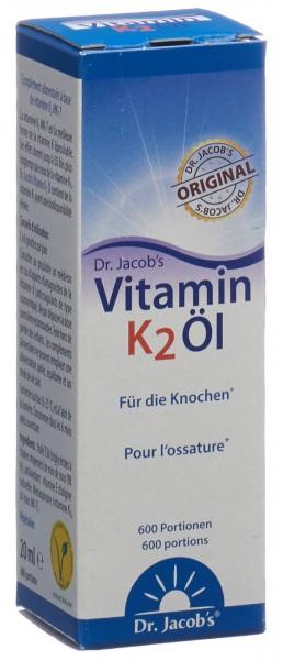 DR. JACOB'S Vitamin K2 Öl Fl 20 ml