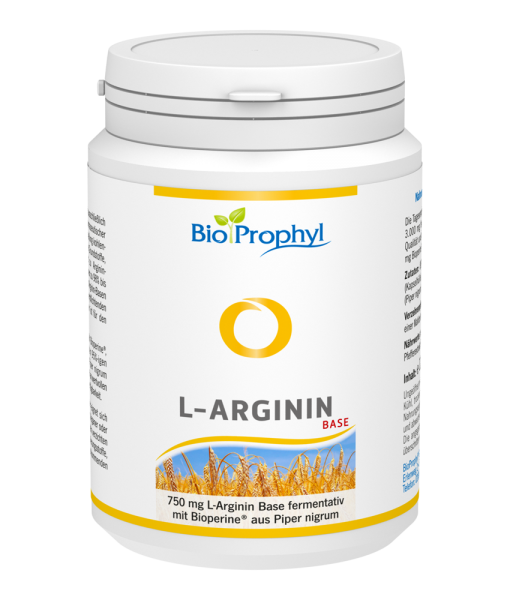 BIOPROPHYL L-Arginin Base 750 Kaps Ds 120 Stk
