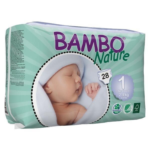 ABENA Bambo Nature New Born 2-4kg à 28 Stk. (310131)