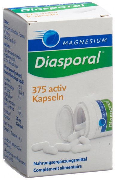 MAGNESIUM DIASPORAL Activ Kaps 50 Stk