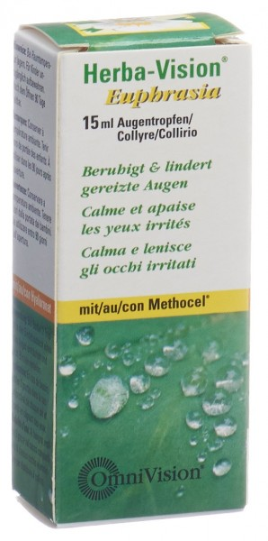 HERBA VISION Euphrasia Augentropfen 15 ml