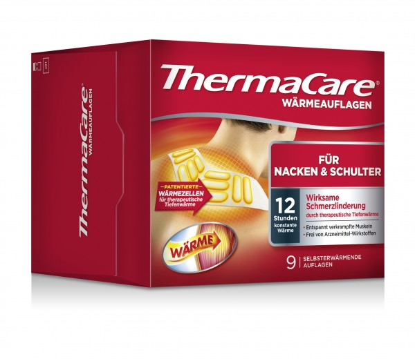 THERMACARE Nacken Schulter Armauflage 9 Stk