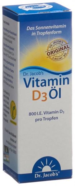 DR. JACOB'S Vitamin D3 Öl 20 ml