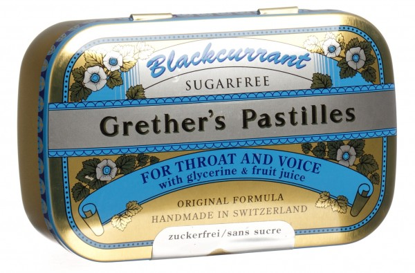 GRETHERS Blackcurrant Past o Z Ds 110 g