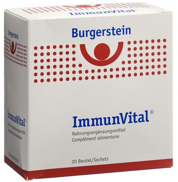 BURGERSTEIN ImmunVital Saft 20 Btl