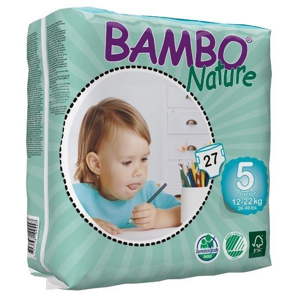 ABENA Bambo Nature Junior 12-22kg à 27 Stk. (310135)