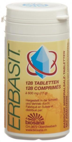 ERBASIT Mineralsalz Tabl mit Kräuter Ds 128 Stk