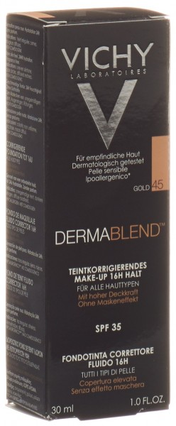 VICHY Dermablend Korrektur Make Up 45 gold 30 ml