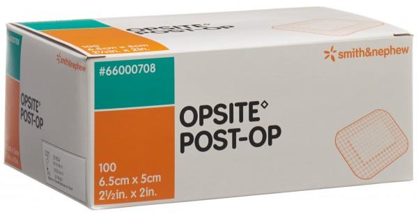 OPSITE POST OP Folienverband 6.5x5cm st 100 Btl