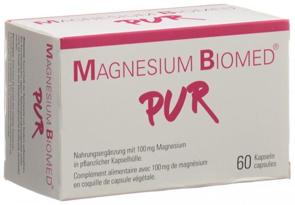 MAGNESIUM BIOMED PUR Kaps 60 Stk