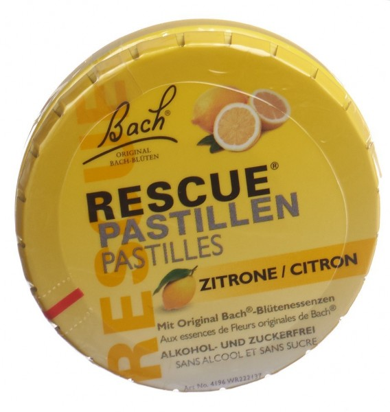 RESCUE Pastillen Zitrone Ds 50 g