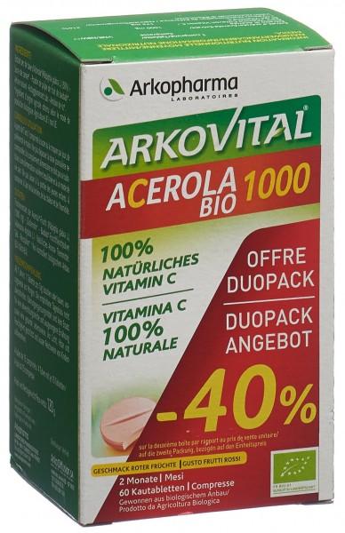 ARKOVITAL Acero Arko Tabl 1000 mg Bio D 2 x 30 Stk