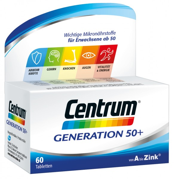 CENTRUM Generation 50+ Tabl 180 Stk