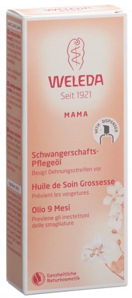 WELEDA Schwangerschafts-Pflegeöl Glasfl 100 ml