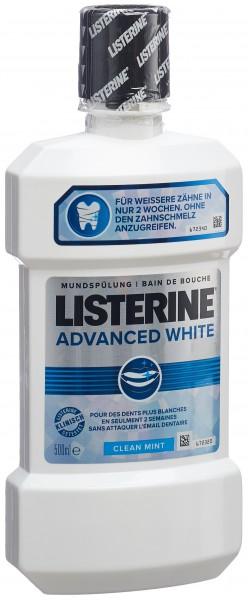 LISTERINE Mundspülung Advanced White Fl 500 ml