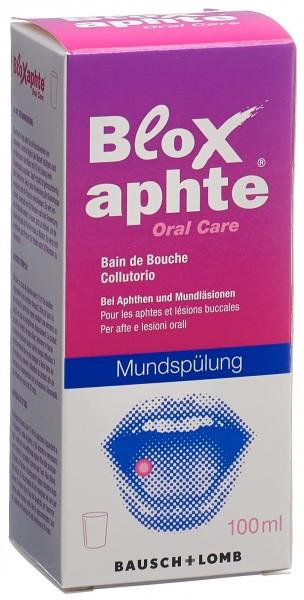 BLOXAPHTE Oral Care Mundspülung Fl 100 ml