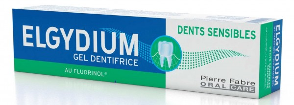 ELGYDIUM Sensible Zähne Zahnpasta-Gel 75 ml