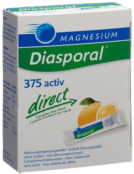 MAGNESIUM DIASPORAL Activ Direct zitrone 20 Stk