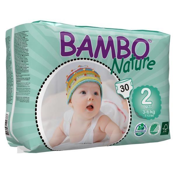 ABENA Bambo Nature Mini 3-6kg à 30 Stk. (310132)