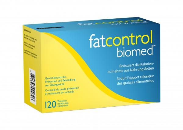 FATCONTROL BIOMED Tabl 120 Stk
