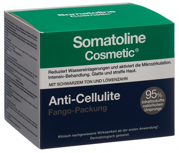 SOMATOLINE Anti-Cellulite Fango Packung Topf 500 g