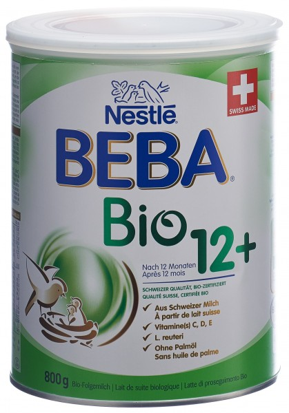 BEBA Optipro Bio 12+ nach 12 Monaten Ds 800 g