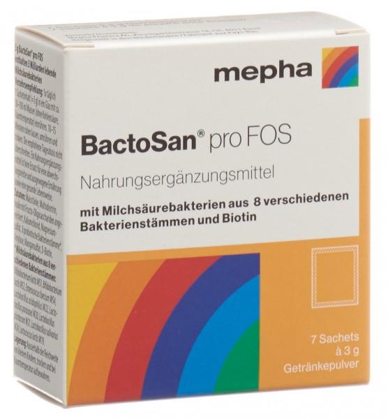 BACTOSAN pro FOS Getränkepulver 7 Btl 3 g