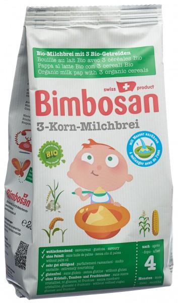BIMBOSAN Bio 3-Korn Milchbrei Btl 280 g